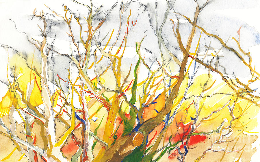 Trees Painting - Summers End by Vannucci Fine Art