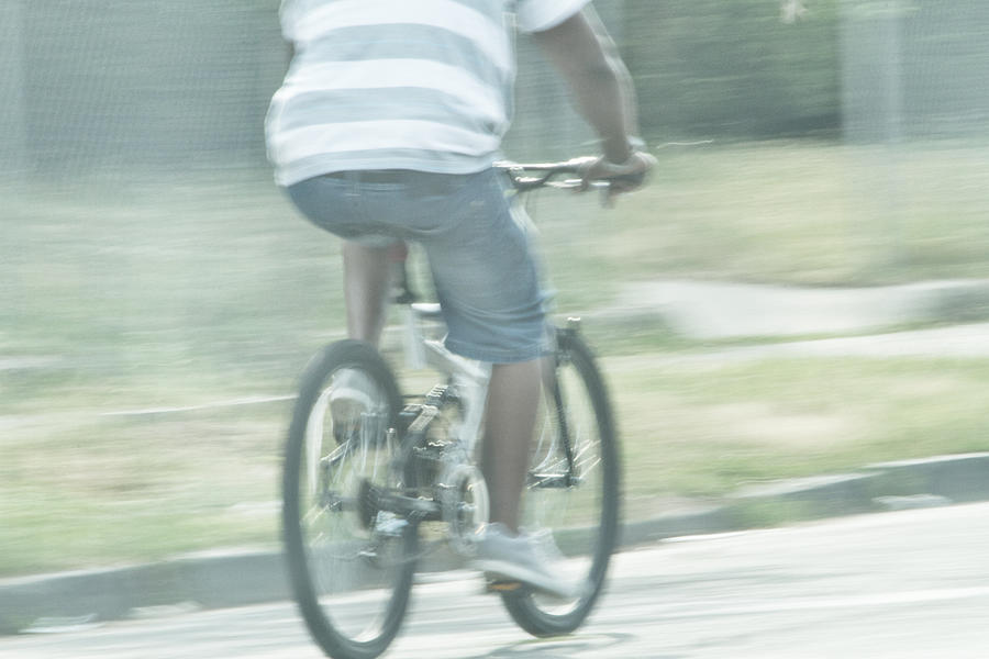 Bicycle Photograph - Summers Ride by Karol Livote