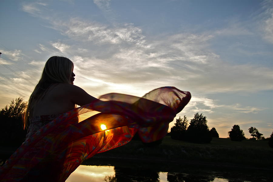 Sun Photograph - Sun Beauty by Snow White