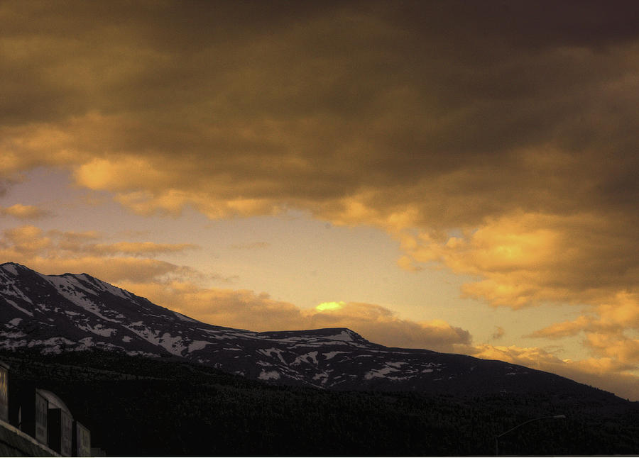 Sun Set Eagle River Photograph by Grover Woessner