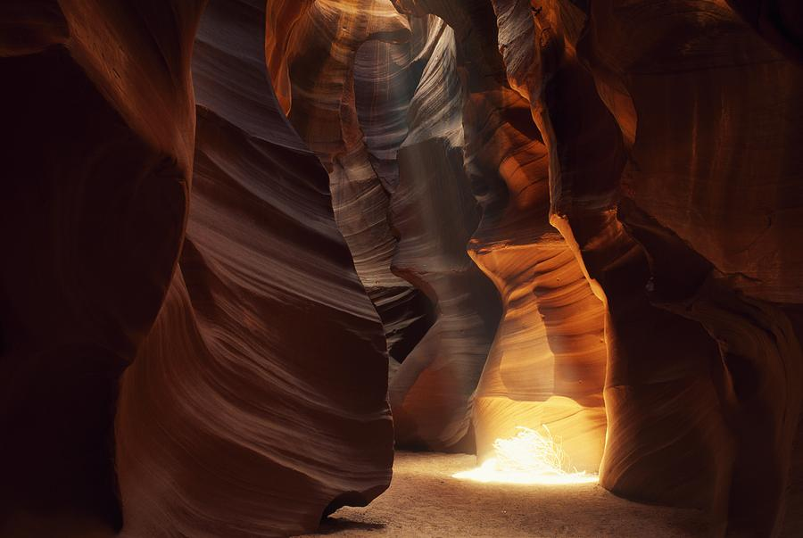 Outdoors Photograph - Sunbeam In Antelope Canyon by Natural Selection Jeff Friesen