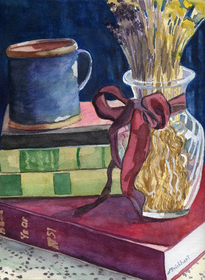 Still Life Painting - Sunday Afternoon by Lynne Reichhart