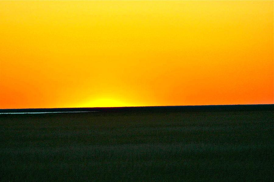 Sunset Photograph - Sundown by Debbie Sikes