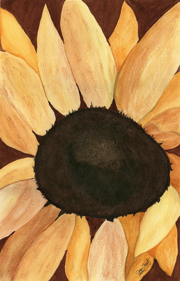 Sunflower Painting - Sunflower by Joan Zepf