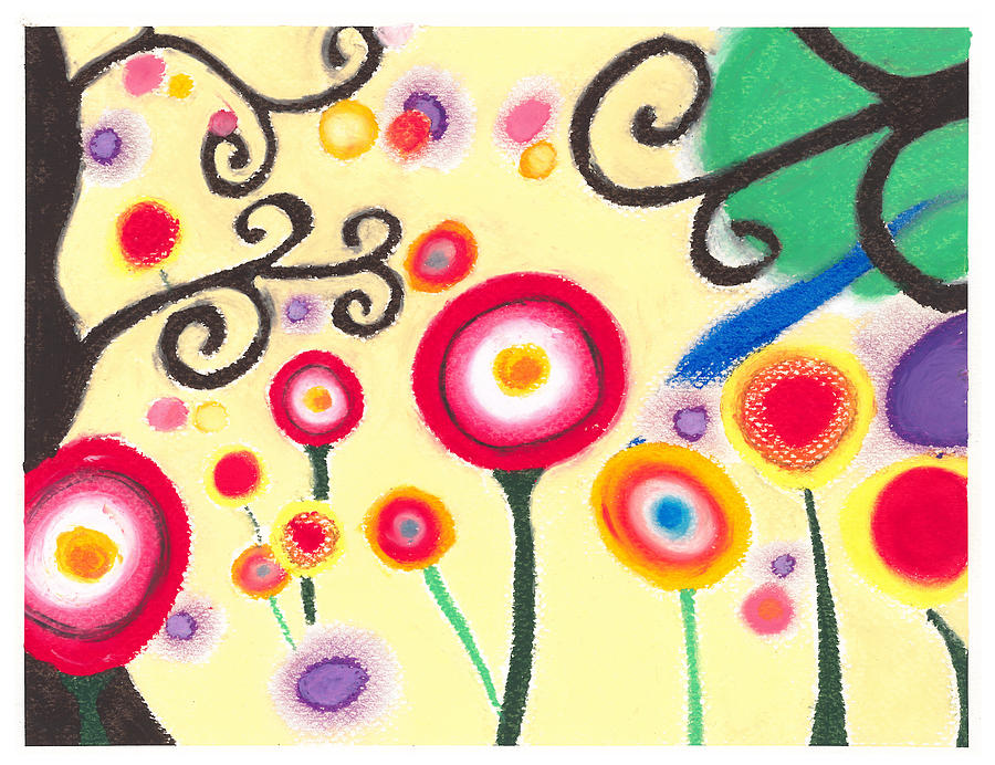 Floral Painting - Sunflowers by Susanna  M
