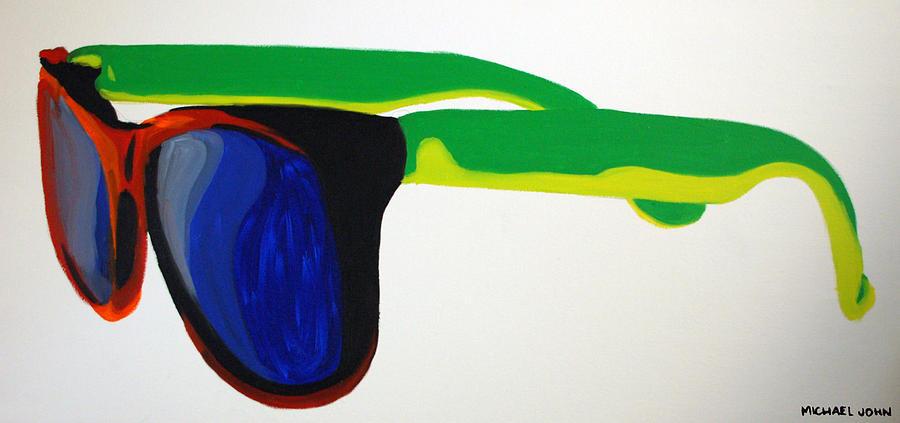 Glasses Painting - Sunglasses  by Michael Ringwalt