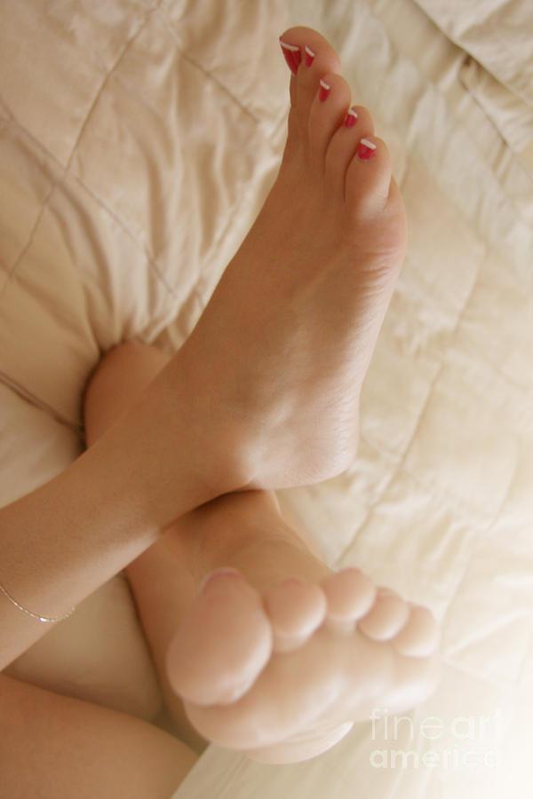 Foot Fetish Photograph - Sunlight Feet by Tos Photos