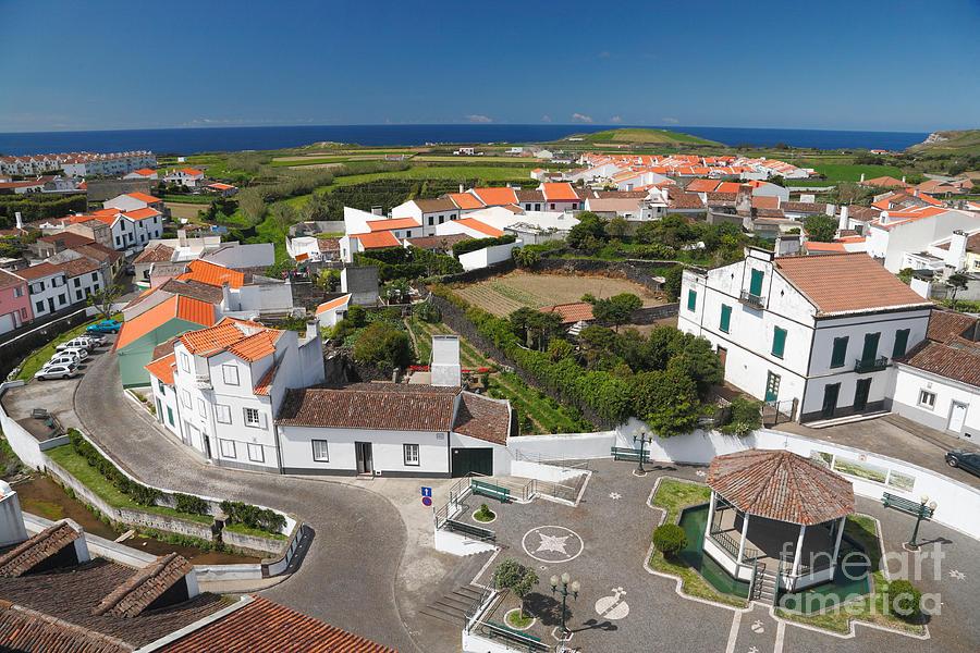 Azores Photograph - Sunny Day At Ribeirinha by Gaspar Avila