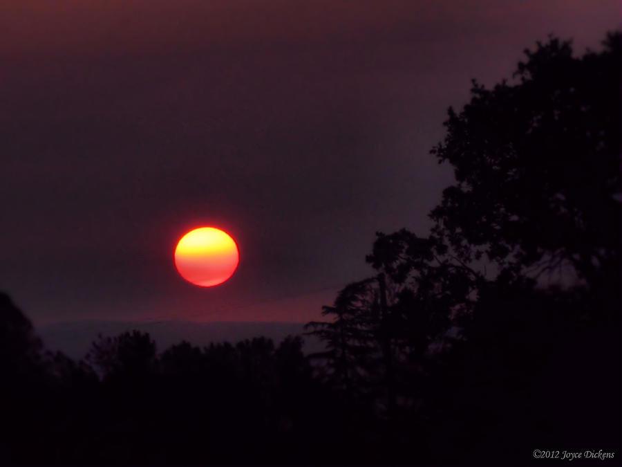 Sunrise Photograph - Sunrise  09 25 12 by Joyce Dickens