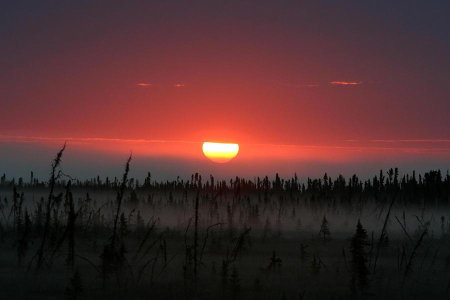 Sunrise Photograph - Sunrise at Kenai Peninsula by Mary Gaines