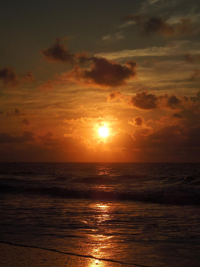 Sunrise Photograph - Sunrise At Myrtle Beach South Carolina by Chad and Stacey Hall
