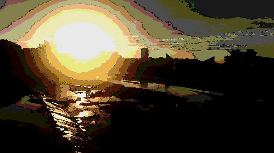 Artist Photograph - Sunrise by David Alvarez