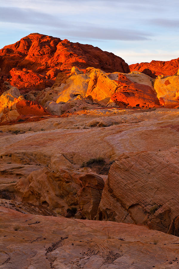 Valley Of Fire Photograph - Sunrise Ignition by James Marvin Phelps