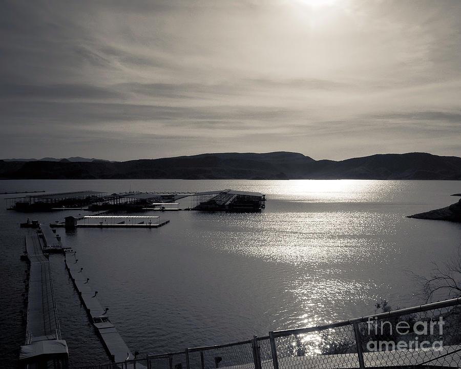 Aj Hansen Photograph - Sunrise Lake Pleasant by Arne Hansen