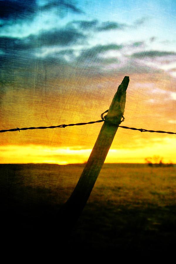 Sunrise Photograph - Sunrise Over The Prairie by Ellen Heaverlo