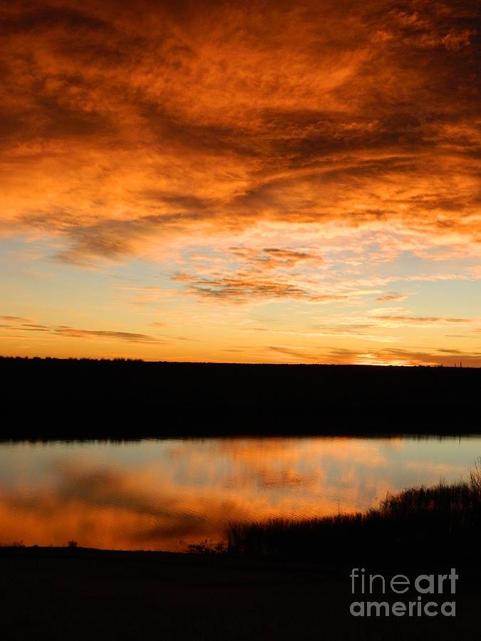 Sunrise Photograph - Sunrise Reflections by Sara  Mayer