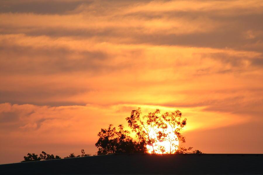 Sun Photograph - Sunrise by Rusty Voss
