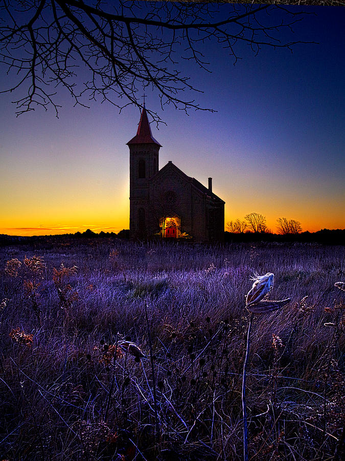 Horizons Photograph - Sunrise Service by Phil Koch