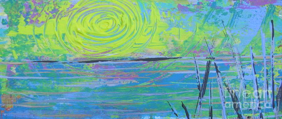 Sunrise Sunset 4 Painting - Sunrise Sunset 4 by Jacqueline Athmann