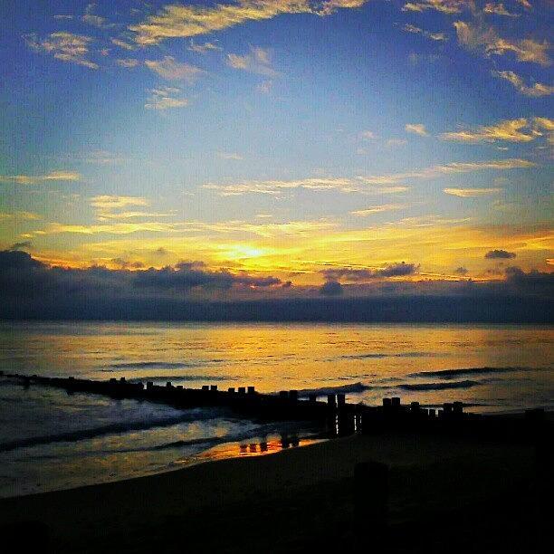 Beautiful Photograph - #sunrise #today ... #seaside #sea by Alexandra Cook