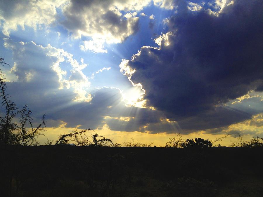 Clouds Photograph - Sunset 3 by Jesus Nicolas Castanon