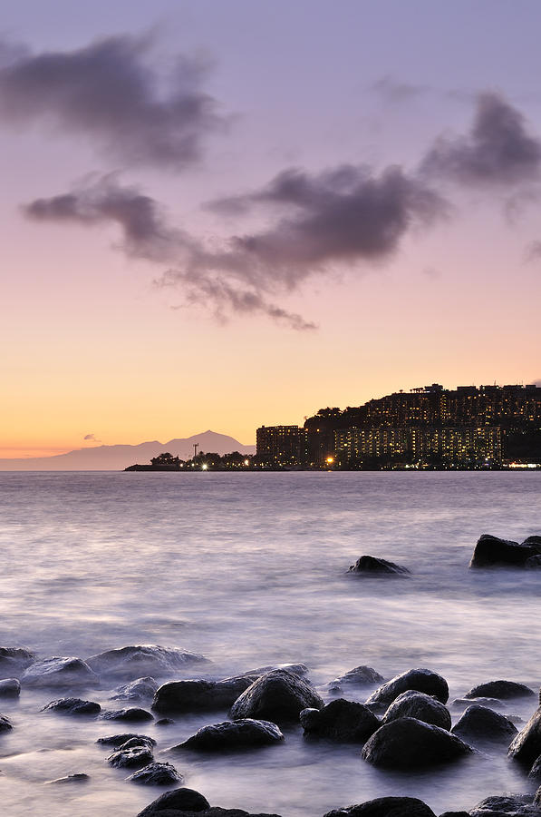 Sunset Photograph - Sunset At Arguineguin by Cristo Bolanos