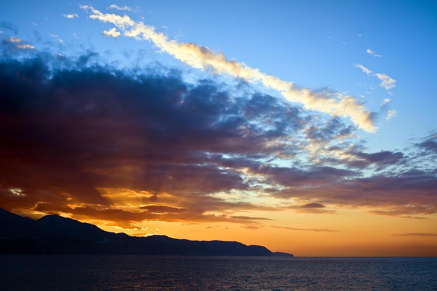 Sunset Photograph - Sunset At Costa Del Sol by Artur Bogacki