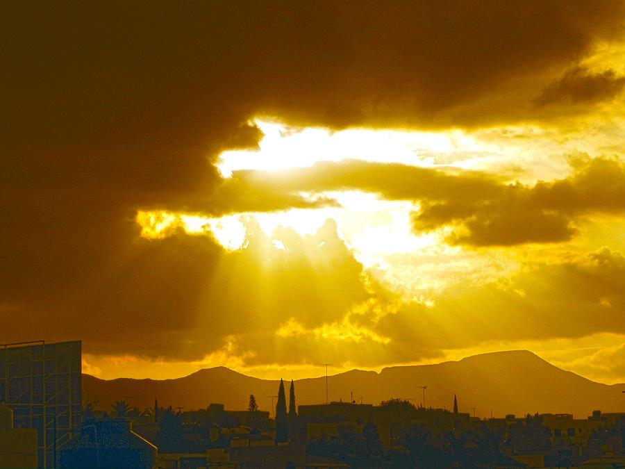 Sunset At San Luis Potosi 2 Photograph By Jesus Nicolas Castanon