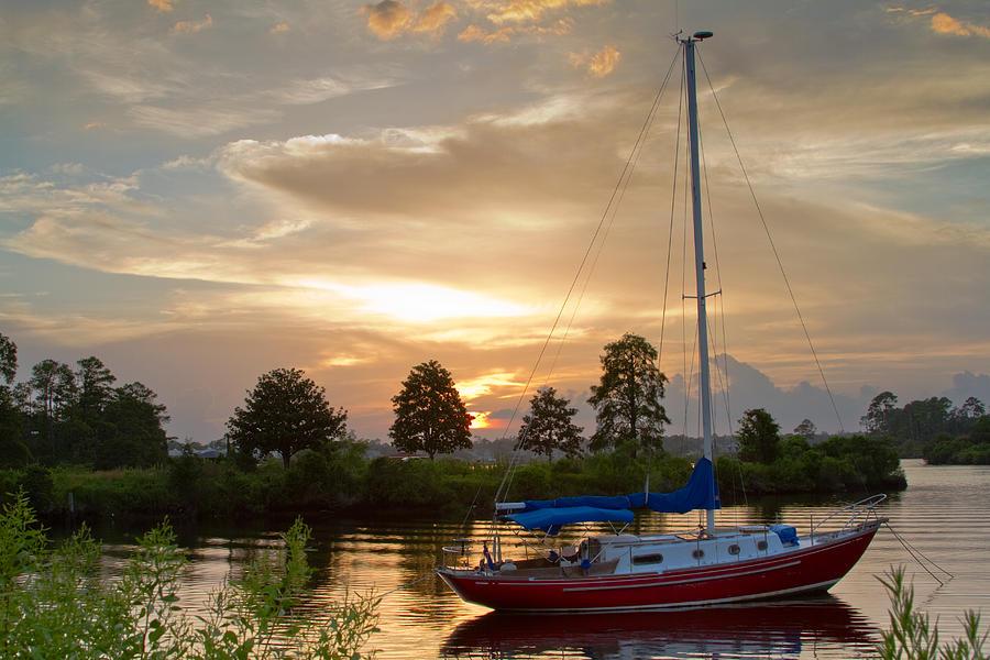 Bay Photograph - Sunset Bay by Diane Carlisle
