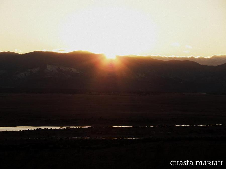 Sunset Photograph by Chasta Mariah