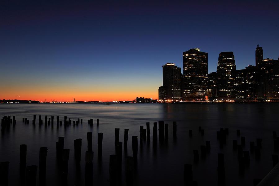 New York City Photograph - Sunset In Manhattan by Kean Poh Chua