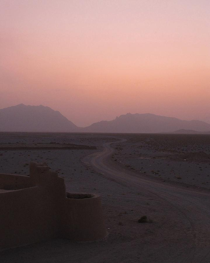 Pink Photograph - Sunset In The Persian Desert by Tia Anderson-Esguerra