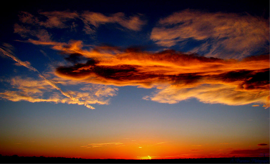 Albuquerque Photograph - Sunset Layers by Aaron Burrows