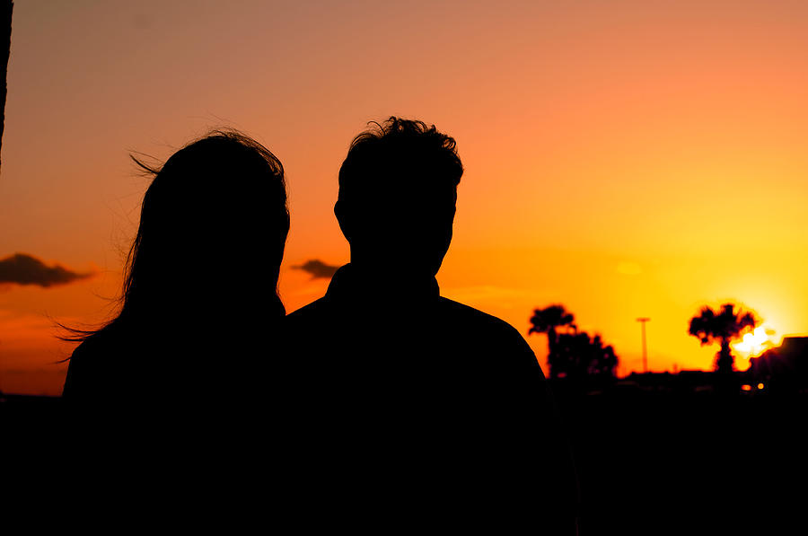 Sunset Love Photograph By Bryon Howell