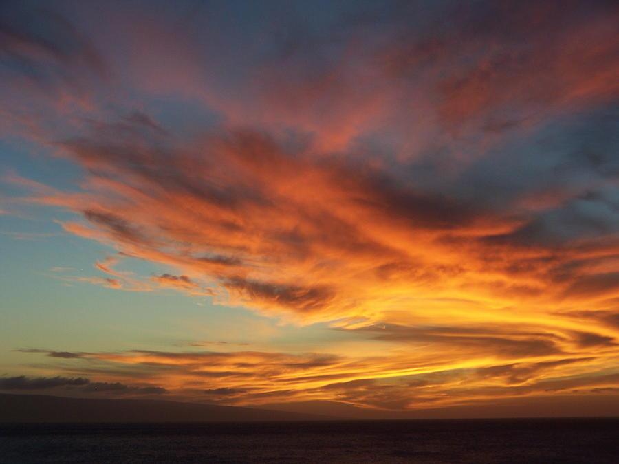 Sunset Maui Hawaii 01 by Earl Bowser