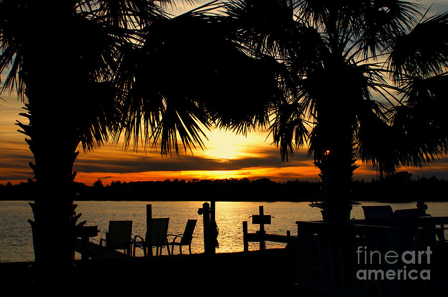 Sunset Photograph - Sunset Memories by Benanne Stiens