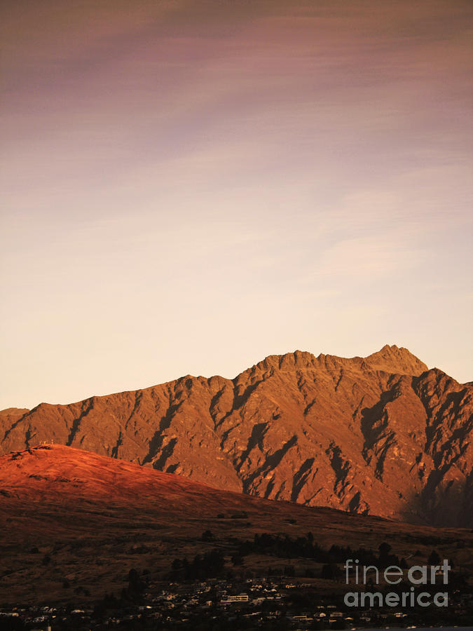 Sunset Mountain 2 Photograph
