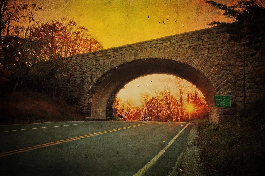 Sunset Photograph - Sunset On Blue Ridge Parkway by Kathy Jennings