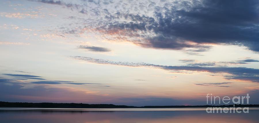 Prairie Sunset Photograph - Sunset On Lovewell by Art Whitton