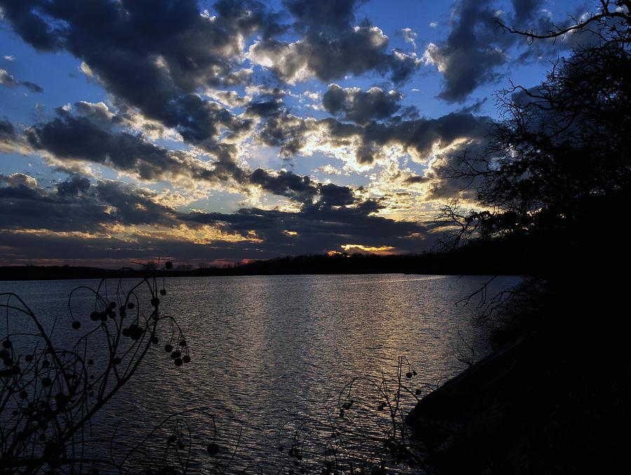 Lake Photograph - Sunset On The Lake by Timothy Johnson