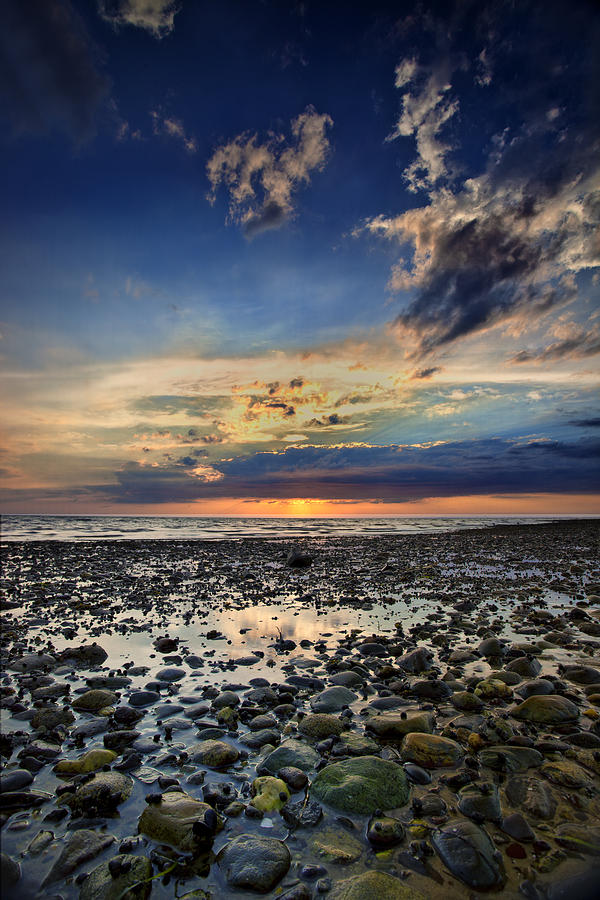 Cape Cod Photograph - Sunset Over Bound Brook Island by Rick Berk