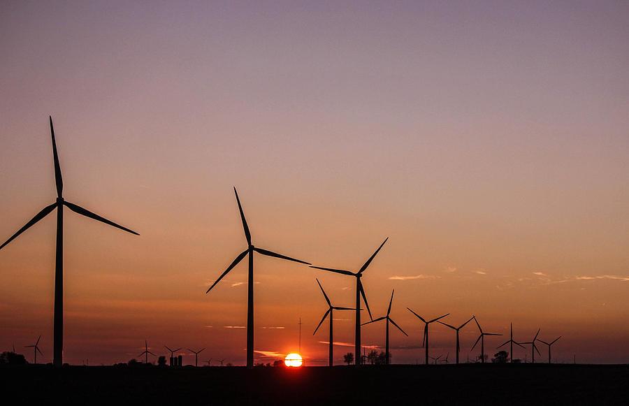 Sun Photograph - Sunset Power by Bradley Hruza