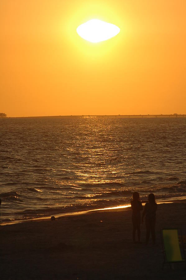 Sunset Photograph - Sunset by Ronald T Williams