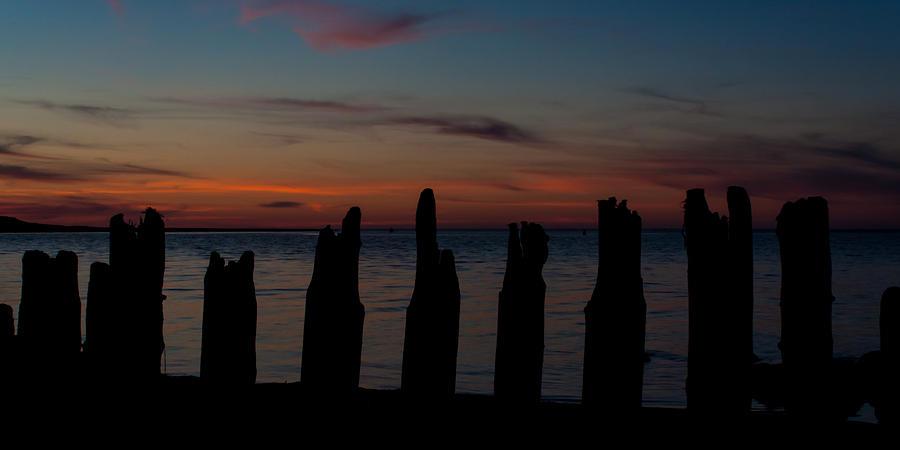 Sunset Photograph - Sunset Silhouette by Matt Dobson