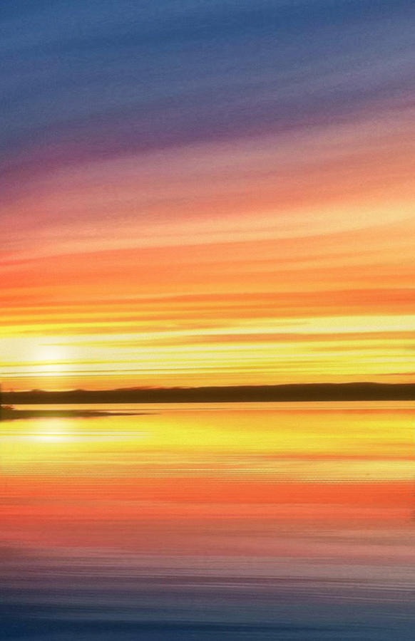 Sunset Stratas by Rod Seel