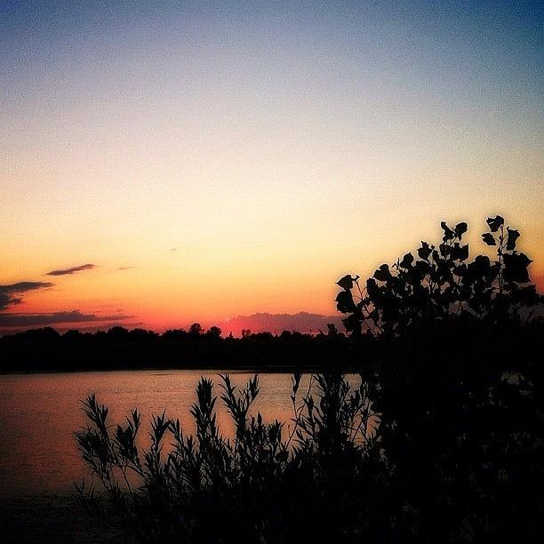 Sky Photograph - #sunset #sunsetlovers #sky #skypainters by Lisa Worrell