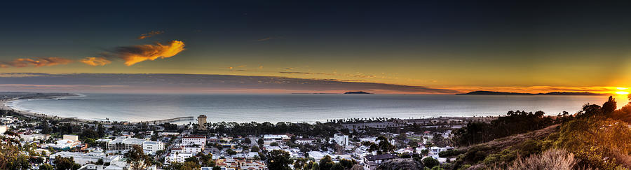 Sunset Photograph - Sunset Ventura Ca by Joe  Palermo
