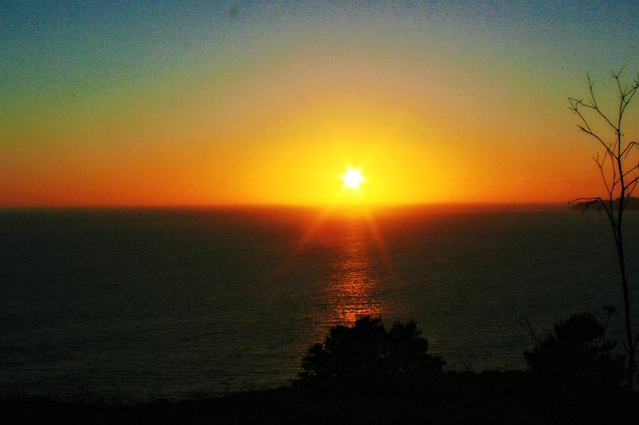 Sunset Photograph - Sunset View by Alma Yamazaki