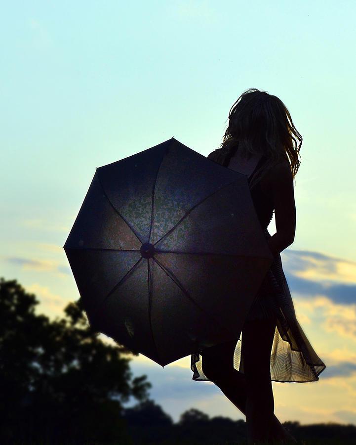 Sunset Walker Photograph by Kurt Bonnell