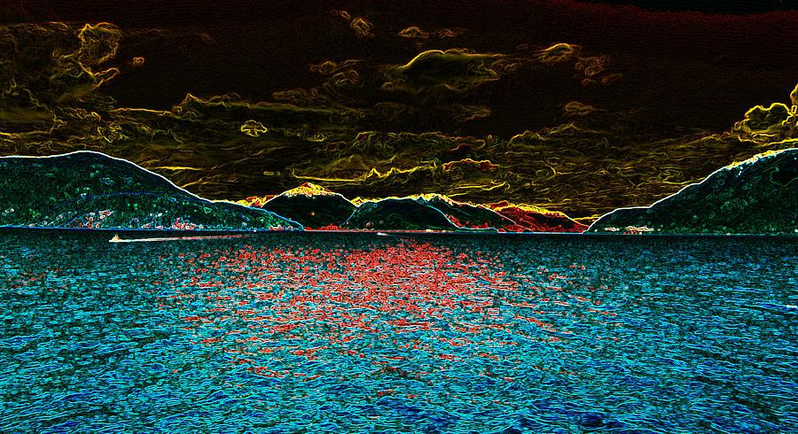 Ocean Photograph - Sunshine Coastin by Travis Crockart
